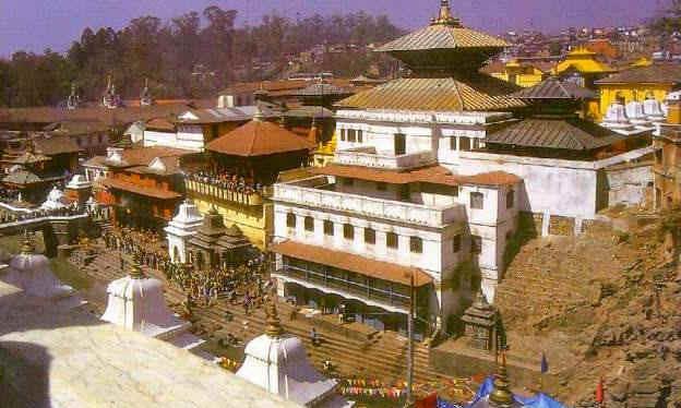 Непал. Пашупатинатх, храмовый комплекс, посвященный Шиве