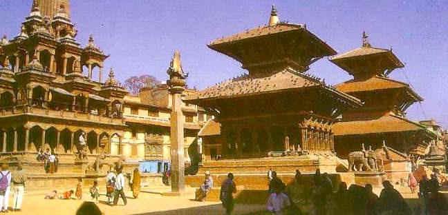 Непал. Патан, дворцовая площадь